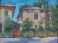 Cascina del Spadon a Figino -olio su tela-cm.50x60  estemporanea di Figino 2010 - 1° classificato - collezione privata (1)