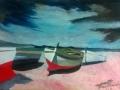 dipinto ad acrilico e olio su tela 30 -40