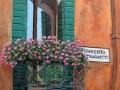 CAT. 401-13 Balconcino fiorito sul Canal Grande