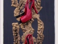 NOTTE D'AMORE  50 x 70 tecnica mista su tela