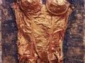NOTTE D'AMORE 70 x 50 tecnica mista su tela