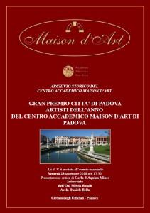 Invito Gran Premio Città di Padova