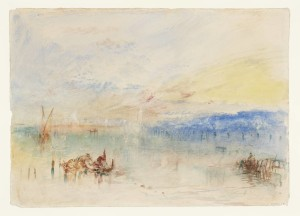 The Approach to Venice 1840 by Joseph Mallord William Turner 1775-1851