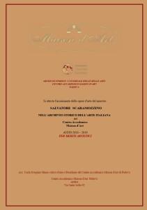 Attestato Archiviazione 2019 per sito