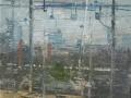 04114-Ferrovia-olio e grafite su tela.60x50-001