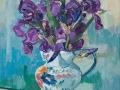3 gladioli. olio su tav. 40x35 (2)