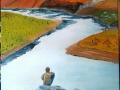 immerso nel paesaggio 40x50