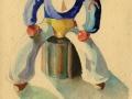 Marinaio seduto, 1929