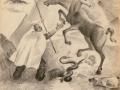 Uomo e cavalli, 1937