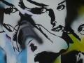 4--senza titolo - acrilico e smalto su tela - mis. 80x80x04 - anno 2013