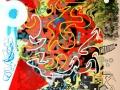 03 Senza titolo  tecnica mista su tela  -digitale.acrilici.smalti - 2012