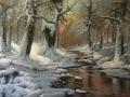 Bosco d'inverno.200x140 cm pg