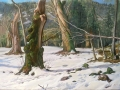 Camaldoli d'inverno 110x150 cm