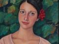Agata, olio su tela cm50x40 Anno 2012