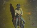 Beirut, olio su tela, 90x80 Anno 1982