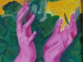 Per amore, olio su tela, 40x30 Anno 2013