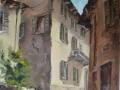 Asso-angolo di via Cesare Curioni(2014) - olio su tela - cm. 60x70 (1)