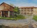 cascina Mordina(2012) olio su tela - cm. 70x120 - collezione privata (1)