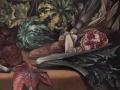 Autunno, particolare, olio su tela, cm 40 x 60, anno 2001