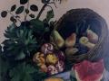 Estate, olio su tela, cm 80 x 100, anno 2002