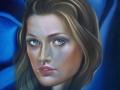 CARISMA-olio su tela cm, 50x70 del 2015 opera di Marcello La Neve