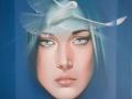 LA GUARIGIONE DELLO SPIRITO-olio su tela cm, 40x50 del 2014 opera di Marcello La Neve