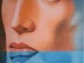 NARCISISMO-olio su tela cm, 30x40 del 2014 opera di Marcello La Neve