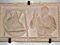 43-bozzetto-de-Giovanni-Paolo-II-benedice-il-Santuario-della-Madonna-delle-Lacrime