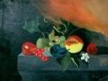 dipinto ad olio su cartone telato ..25 -35