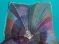 Collasso spazio tempo acrilico su tela 2011
