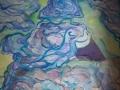 Piastre dimensionali acrilico su tela 120x80 2014