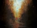 fonte della luce 2005 - olio su tela - 129,5x100