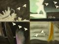 Rotte migratorie 70 x 120 Aldo Righetti