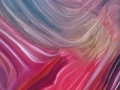 Dialogo a distanza, 2014, olio su tela, 80x120 cm