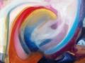Elogio alla passione, 2011, tecnica mista su tela, 100x120 cm