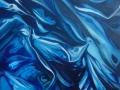 Eterno ritorno, 2015, olio su tela, 40x40 cm