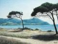"""""""Costa della Maremma"""" (matite pastello su carta)"""