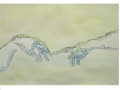 acquerello su carta cotone 50x70cm