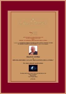 Diploma Accademico i Protagonisti della Storia