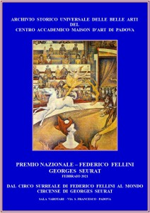 PREMIO - FEDERICO FELLINI - GEORGES SEURAT