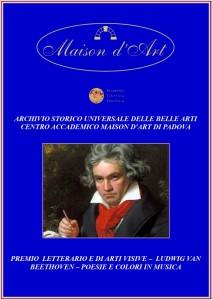 Premio Letterario di arti visive - Beethoven 2020 per sito