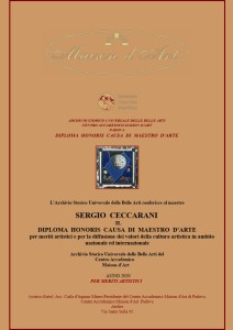 Diploma Honoris Causa maestro d'Arte