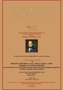 Premio internazionale Giacomo Leopardi 1