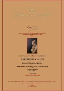 Premio Antologia critica 2020