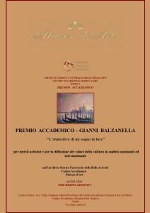 premio accademico 2020