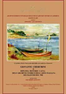 Diploma Archivio Storico dell'Arte Italiana