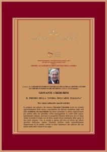Il premio della Storia dell'Arte Italiana